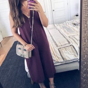 PERFECT JUMPSUIT FOR TRANSITION INTO FALL