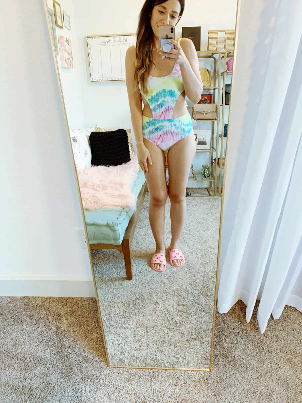 walmart swimsuit tie dye one piece