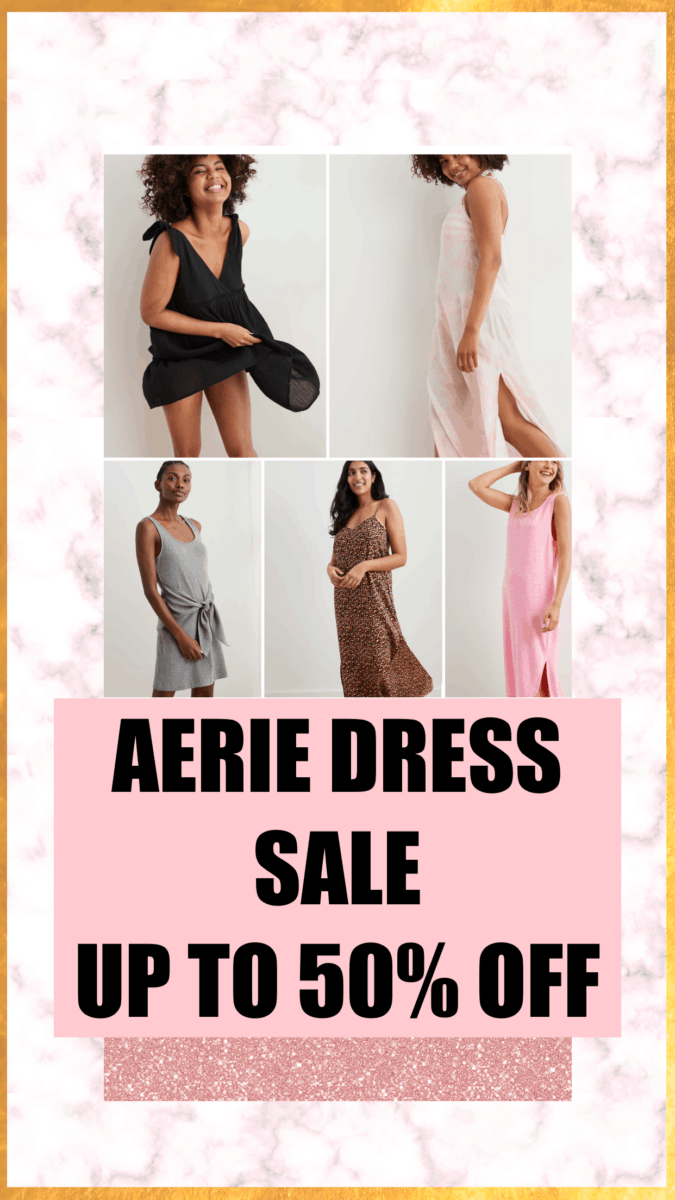 aerie dress favorites from memorial day sale