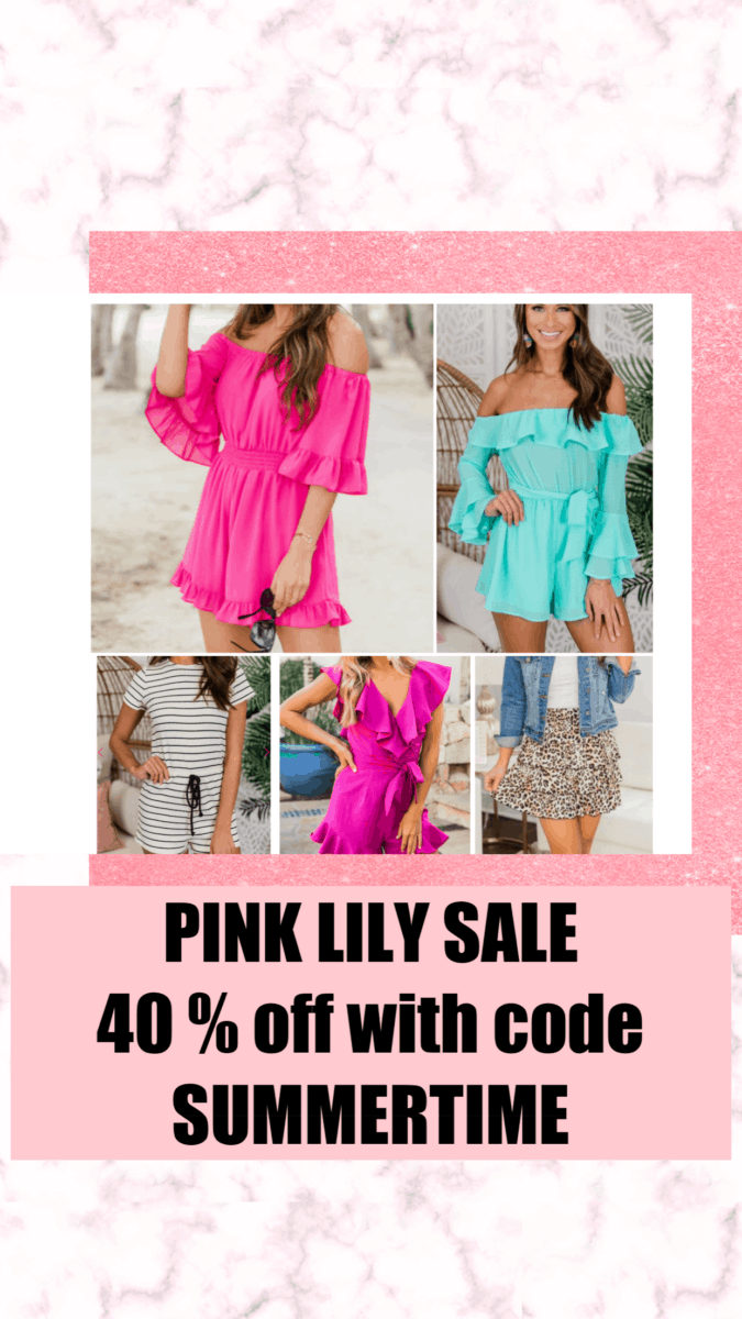 pink lily boutique memorial day sale favorites